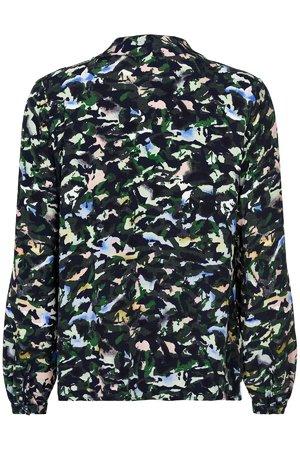 NÜmph 7519002 MANDARA Dámská košile 3038 SAPPHIRE tmavě modrá