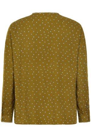 NÜmph 7519021 MEDORA Dámská košile 4040 PLANTATION zelená