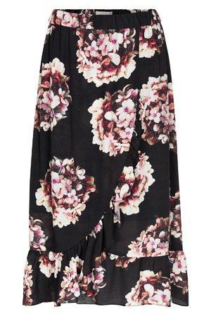 NÜmph 7519105 MARIELLE Dámská sukně 0000 CAVIAR černá