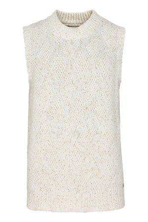 NÜmph 7519202 MARIT Dámský svetr 9000 B. WHITE bílá