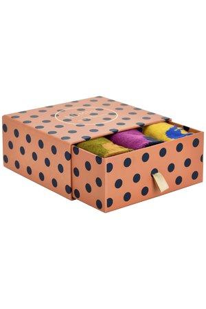 NÜmph 7519408 MERAUD 3-PACK Dámské ponožky 6000 MULTI COL. mix barev barev jedna velikost