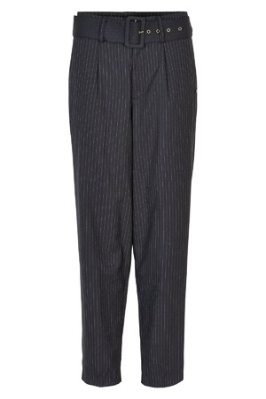 NÜmph 7519606 MARGARETE Dámské kalhoty 0500 PHANTOM tmavě šedá