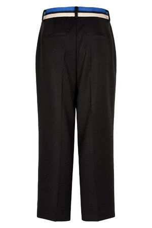 NÜmph 7519611 MANDOLIN Dámské kalhoty 0000 CAVIAR černá