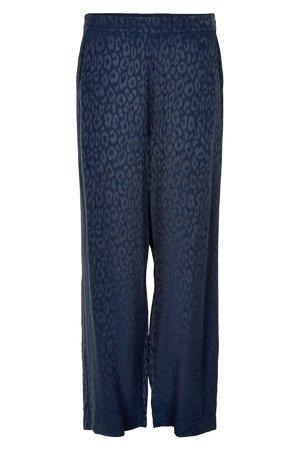 NÜmph 7519617 MOSELLE Dámské kalhoty 3038 SAPPHIRE tmavě modrá