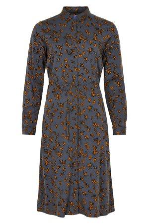 NÜmph 7519805 MARIAM Dámské šaty 3044 OMBRE BLUE modrá