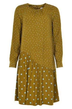 NÜmph 7519813 MEDORA Dámské šaty 4040 PLANTATION zelená