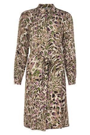 NÜmph 7519828 FRAYDA Dámské šaty 6000 MULTI COL. mix barev barev