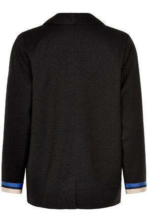 NÜmph 7519903 MANDOLIN Dámský kabát 0000 CAVIAR černá