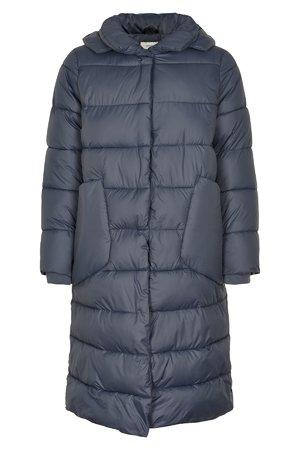NÜmph 7519908 MATALIN Dámský kabát 3044 OMBRE BLUE modrá