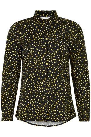 NÜmph 7619017 NUJELLYPALM SHIRT Dámská košile 0000 CAVIAR černá
