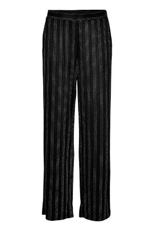 NÜmph 7619613 NUGUNVARIT PANTS Dámské kalhoty 0000 CAVIAR černá