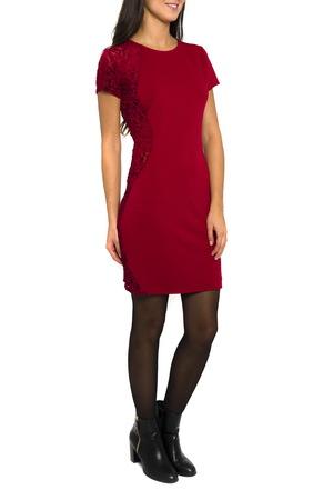 Smash CAPITA šaty tmavo červená