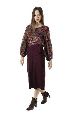 Smash MONET sukně tmavě červená