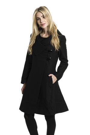 Smash JALLOR kabát čierna