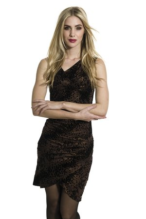 Smash EMILIA šaty hnedá