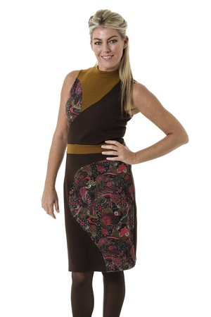 Smash NALA šaty hnedá