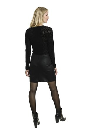 Smash ELISA šaty čierna