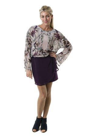 Smash LUNA šaty fialová