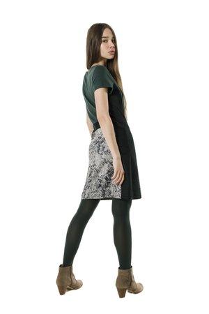 Smash MAGNOLIA šaty tmavě zelená