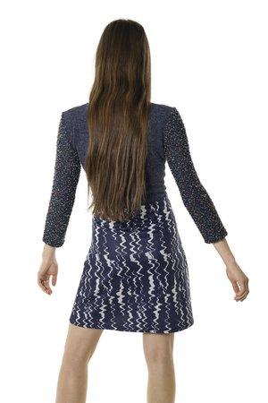 Smash JULIANA šaty tmavo modrá