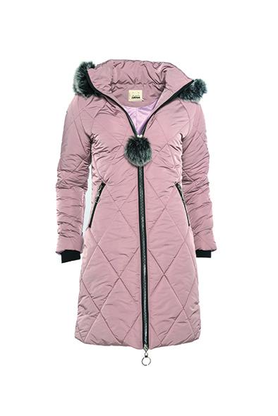 Smash ZOET Dámský kabát růžový 5b66f91b02d