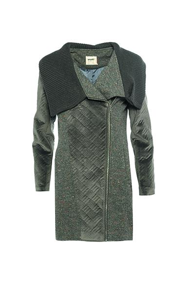 Smash SIUMOU Dámský kabát tmavě šedá