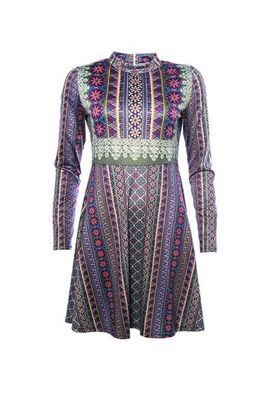 Smash GROSELLA Dámské šaty fialová