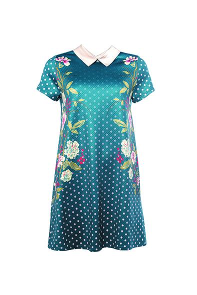 Smash IRLANDA Dámské šaty modrá