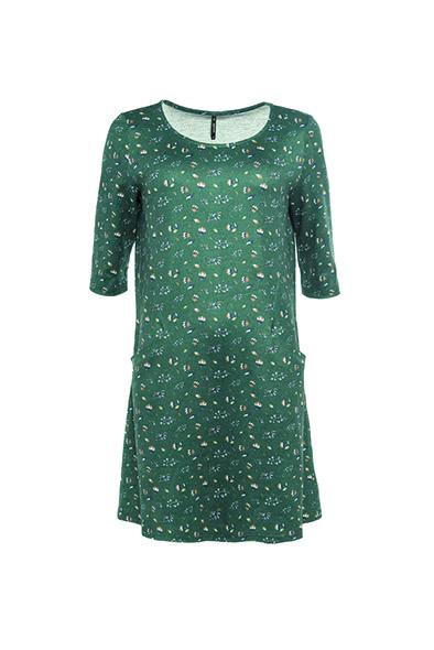 Smash MARATUA Dámské šaty tmavo zelená