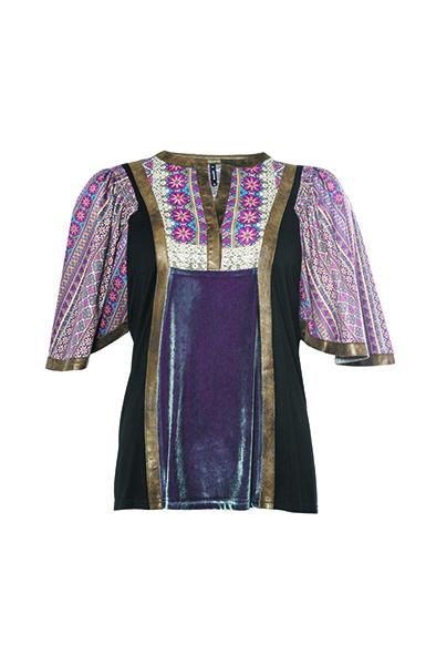 Smash KALSOY Dámské tričko fialová