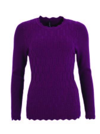 Smash ZARIAH Dámský svetr fialová