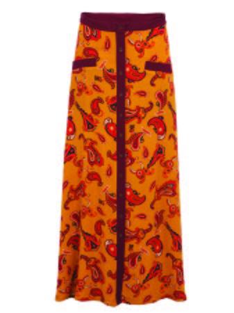 Smash GINGER Dámská sukně žlutá