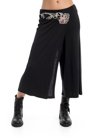Mamatayoe Androgeo Dámské kalhoty černé