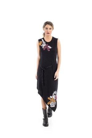 Mamatayoe Artmazia Dámské šaty černé