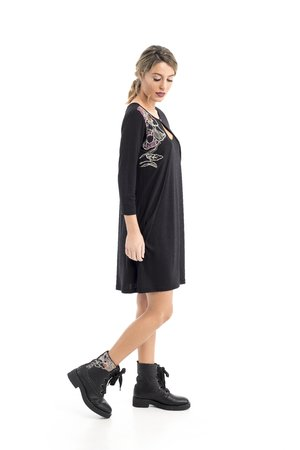 Mamatayoe Atenea Dámské šaty černé