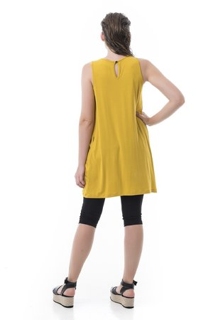 Mamatayoe Atrani Dámské šaty žlutá