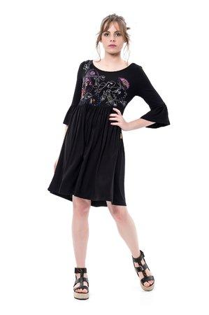 Mamatayoe Alegría Dámské šaty čierna