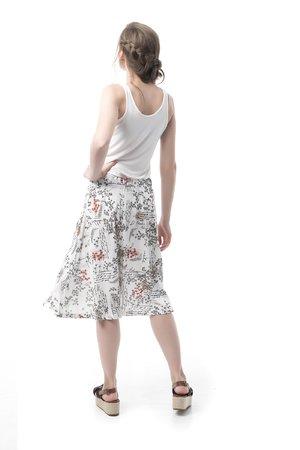 Mamatayoe Bernarda Alba Dámská sukně šedá