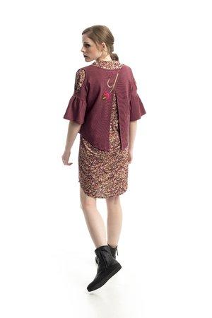 Mamatayoe Boj Dámský kabát růžový
