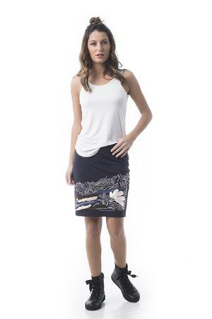 Mamatayoe Bourbonnais Dámská sukně tmavě modrá