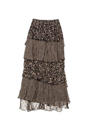 Nekane CASIS Dámská sukně onix251 černá