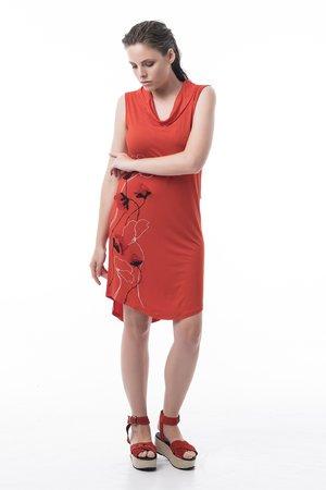 Mamatayoe Cassis Dámské šaty červená