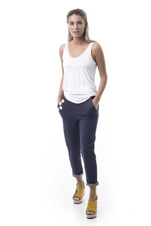 Mamatayoe Chora Dámské kalhoty tmavě modrá