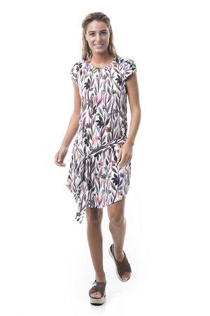 Mamatayoe Comillas Dámské šaty mix barev barev