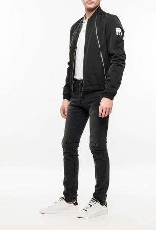 Ryujee CORTO bunda černá
