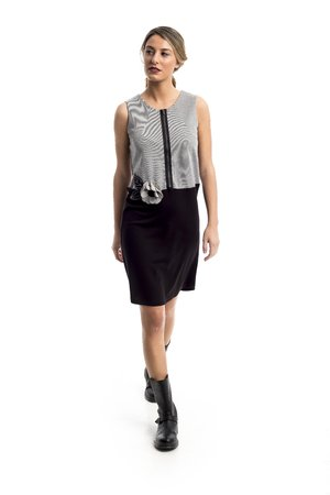 Mamatayoe Coutances Dámské šaty šedá