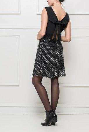 Ryujee DRUSILA šaty černá