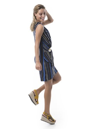 Mamatayoe Folegandros Dámské šaty mix barev barev