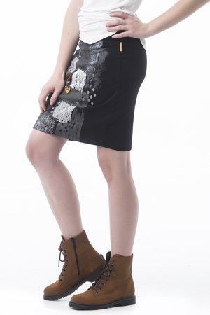 Mamatayoe Fondant Dámská sukně černá