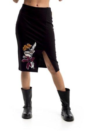Mamatayoe Gally Dámská sukně černá